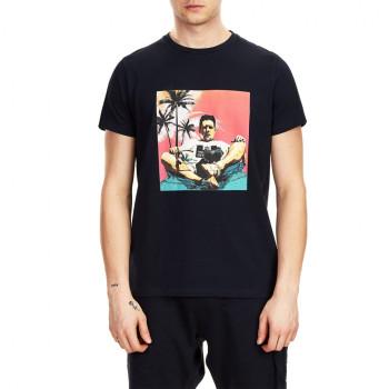 Shaun T-shirt - navy